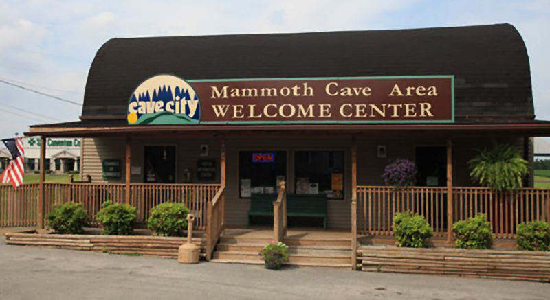 Welcome Center Cave City Home of Mammoth Cave National Park